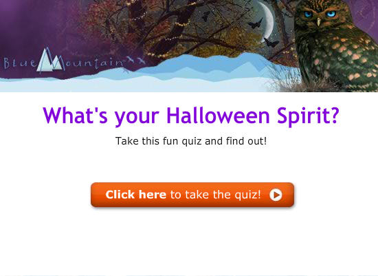 Take our Fun Halloween Quiz!