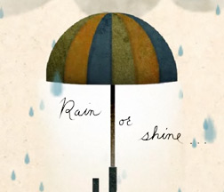 eCard of the week   Rain or Shine