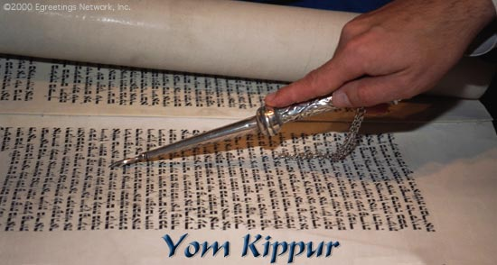 Yom Kippur, the Day of Atonement