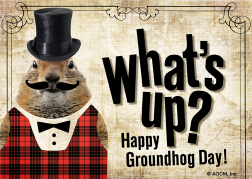 ITS GROUNDHOG DAY!