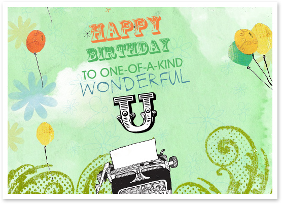 Featured Birthday Ecard