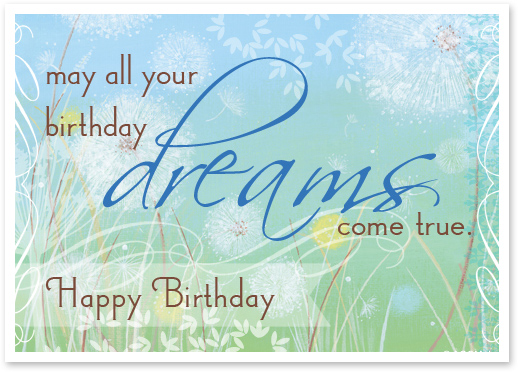 March Birthday eCard