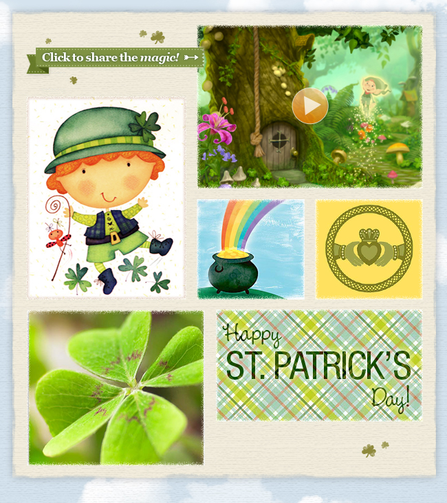 THE MAGIC OF ST. PATRICKS DAY: Mood Board