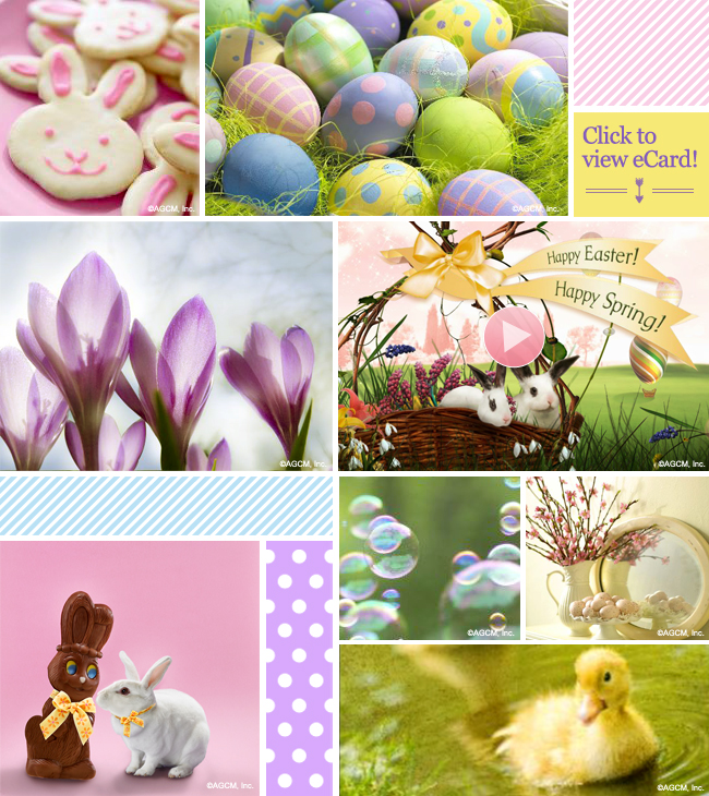 HAPPY EASTER Mood Board
