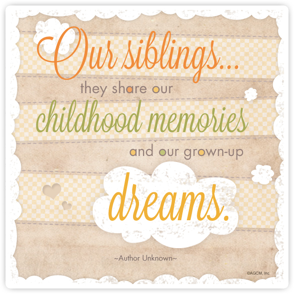 Happy Sister And Brothers Day: Happy National Siblings Day Quotes. QuotesGram