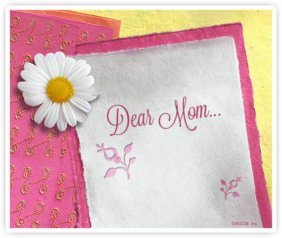 WHAT TO WRITE... for Mothers Day