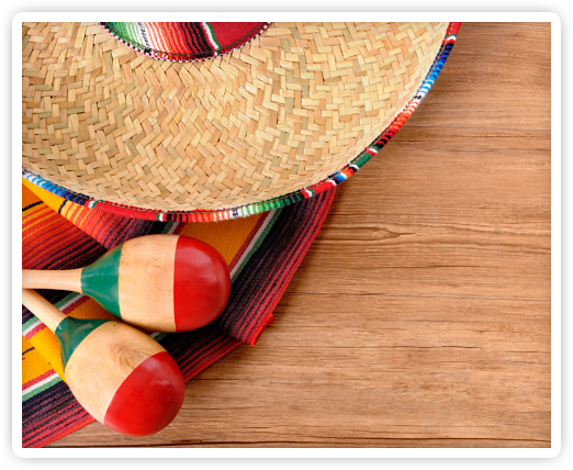 A CINCO DE MAYO CELEBRATION!
