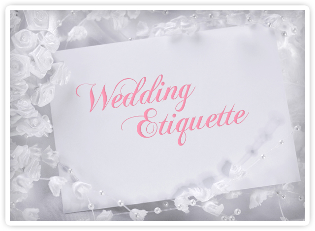 What Is The Etiquette For Wedding Invitations: Wedding Invitation And RSVP Etiquette