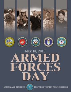MAY 18  ARMED FORCES DAY