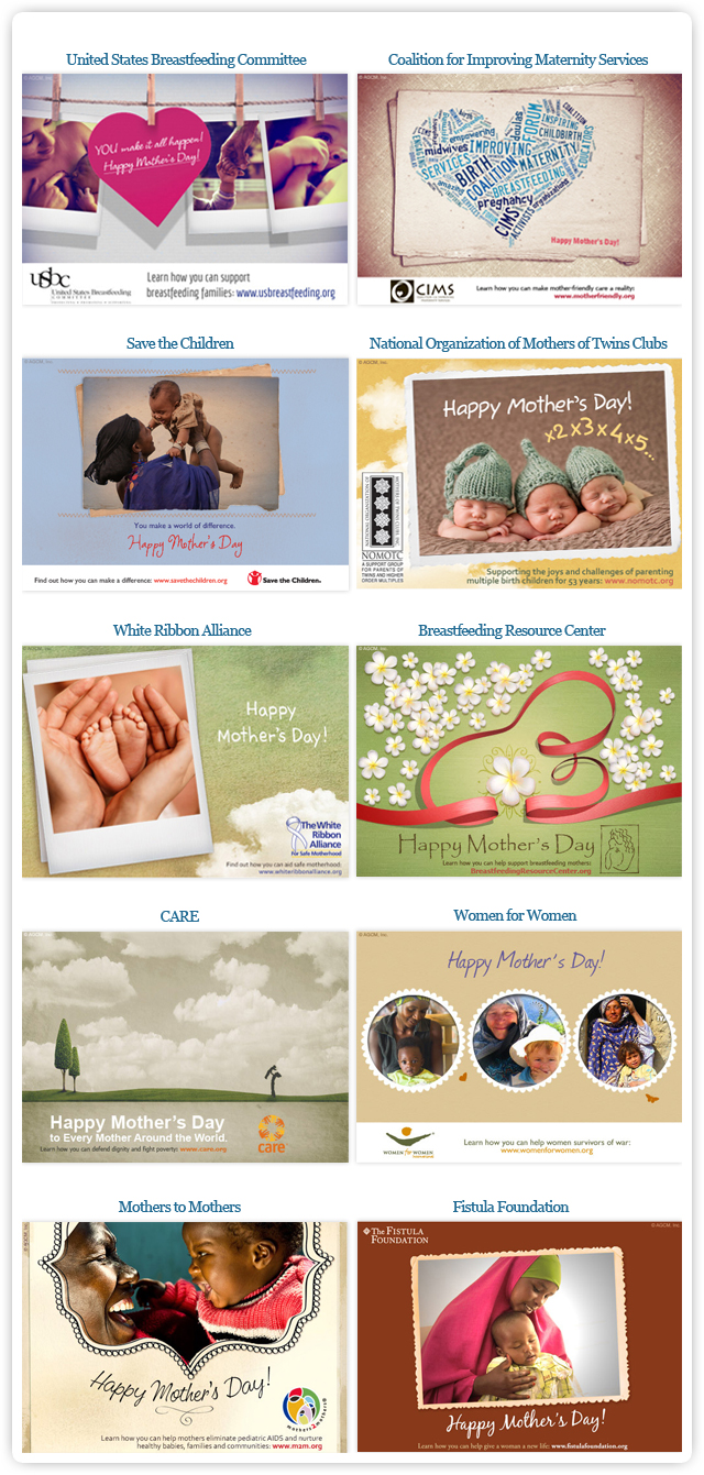 MOTHERS DAY ECARDS FOR CHARITY
