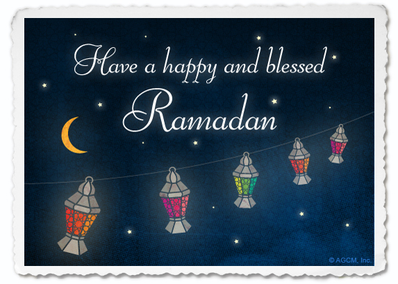 Ramadan Postcard, Blue Mountain