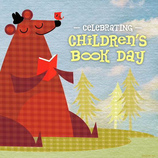 Celebrate Children's Book Day with BlueMountain.com