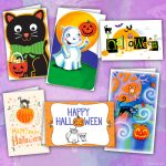 Printable Halloween Cards