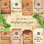 Holiday Party Planning – Being a good guest