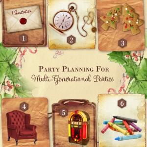 Holiday Party Planning   Multigenerational Parties