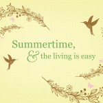Printable Quote: Summertime