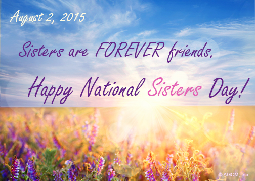 celebrate national sisters day on august 2 blue mountain blog