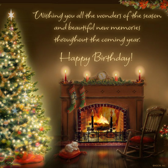 christmas birthday wishes
