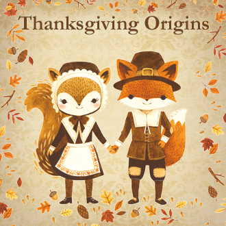 Where Did Thanksgiving Originate Pilgrim Fox Image