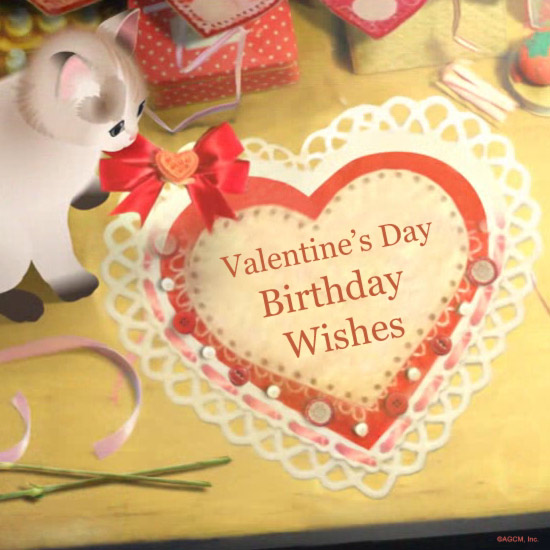 Valentines Day Birthday Wishes