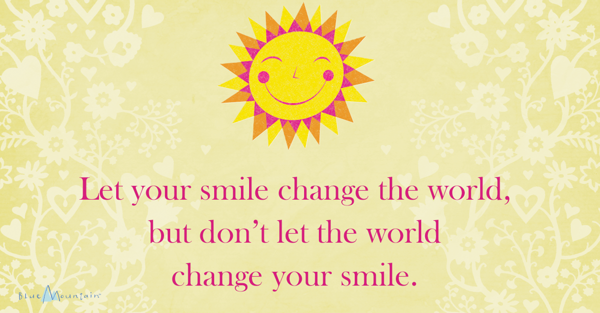 Printable Smile Quote