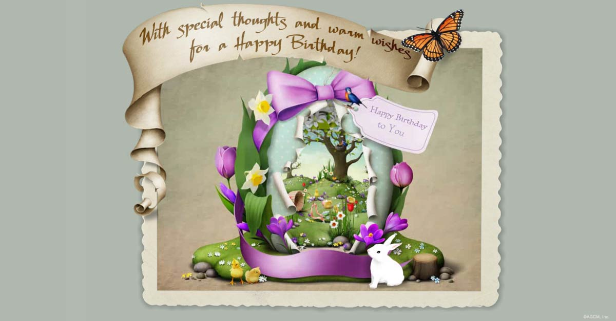 Spring Birthday Wishes Blue Mountain Blog