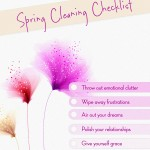 Spring Cleaning the Soul