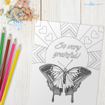 Inspirational Coloring Page for Adults