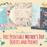 Printable Mother's Day Quotes & Poems