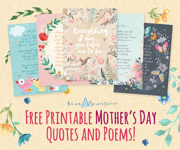 Superb image within printable mothers day poems