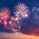 July 2016 Desktop Calendar