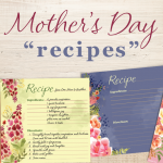 Printable Mother's Day Recipe Poems